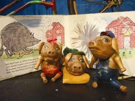 Bild: Die kleinen Schweinchen