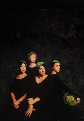 Bild: Ines Martinez, Jutta Habicht, Anna Bolk und Sabine Urig