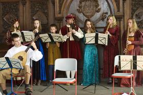 Bild: »Tanzmusik der Renaissance aus Deutschland und Schottland«