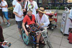 Bild: Expedition LEBEN - Mit dem Rollstuhl durch Deutschland - Von Flensburg bis zum Bodensee