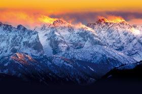 Bild: Das Alpenland