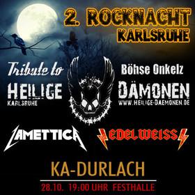 Bild: 2.Karlsruher ROCKNACHT - mit Edelweiss,Lamettica,Heilige Dämonen