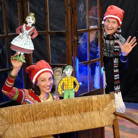"""Bild: """"Wie wir in Bullerbü Weihnachten feiern"""" - Das humorvolle Radelrutsch-Mitmach-Theater mit viel Musik"""