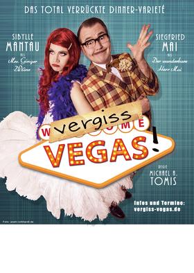 """Bild: Die total verrückte Varieté-Show """"Vergiss Vegas!"""" - Mit Mrs. Ginger DeVine und dem wunderbaren Herrn Mai"""