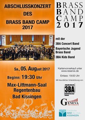 Bild: Abschlusskonzert Brass Band Camp 2017 - Abschlusskonzert Brass Band Camp 2017 Bad Kissingen