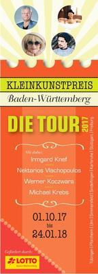Bild: Kleinkunstpreis Baden-Württemberg — Die Tour 2017 - Kleinkunstpreisträger 2017 des Landes Baden-Württemberg