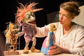 """Bild: Theater Anna Rampe zeigt: Rumpelstilzchen"""" - Puppentheater nach dem Märchen der Brüder Grimm"""