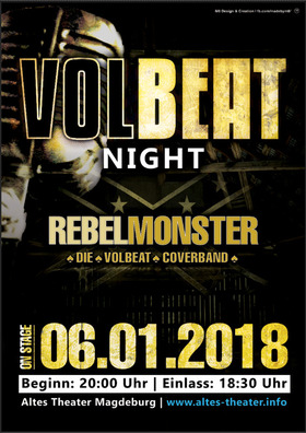 Volbeat Tribute Night - Live mit REBELLMONSTER
