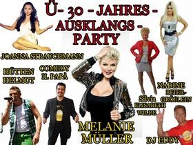 Bild: Die große Ü-30 - JAHRES - AUSKLANGS - Party - Tanzveranstaltung mit Showstars