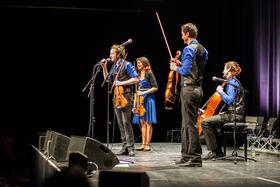 Bild: Knights and Fools - Feuerbach Quartett - Pop in klassischem Gewand