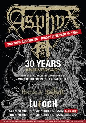 Asphyx - 30 Years Anniversary Show Zusatzshow