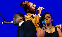 Bild: singout GOSPEL Frankfurt - 200 Sänger mit stimmgewaltigen Solisten aus den USA, England und Afrika
