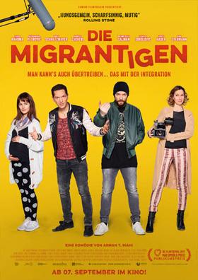 Bild: Die Migrantigen - Premiere mit einem Glas Prosecco in Anwesenheit von Regisseur Arman T. Riahi & Hauptdarsteller Faris E. Rahoma