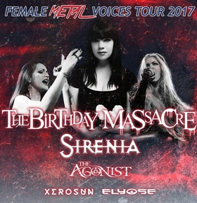 Bild: FEMALE METAL VOICES - Tour 2017 - FEMALE METAL VOICES - Tour 2017