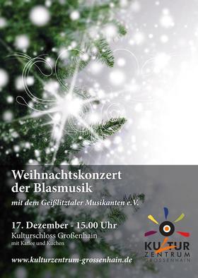 Bild: Weihnachtskonzert der Blasmusik