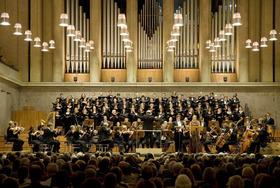 Bild: Chor-/Orchesterkonzert