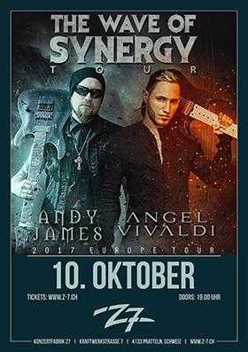 Bild: ANDY JAMES - ANGEL VIVALDI - The Wave Of Synergy Tour 2017