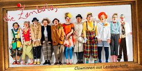 DIE ZAMBALAS - Clowninnen aus Leidenschaft