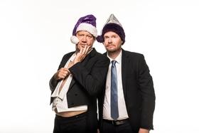 Bild: Michael Frowin und Dietmar Löffler - Halleluja Angela - Der Kanzlerchauffeur feiert Weihnachten - Halleluja, Angela! - Der Kanzlerchauffeur feiert Weihnachten