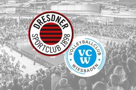 Bild: Dresdner SC - VC Wiesbaden