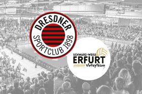 Dresdner SC - Schwarz-Weiß Erfurt