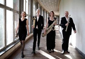 Bild: Jazz-Suite - mit dem Saxophonquartett clair-obscure