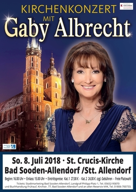 Bild: Kirchenkonzert mit Gaby Albrecht