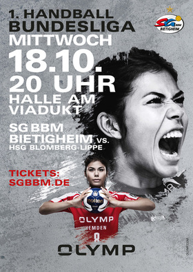 Bild: SG BBM Bietigheim vs. HSG Blomberg-Lippe