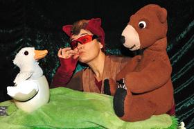 Bild: Gans der Bär
