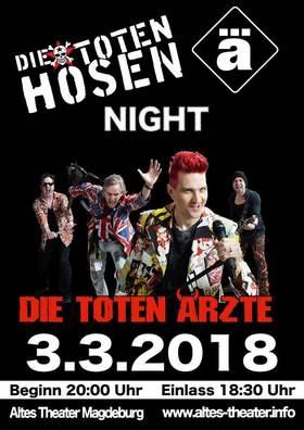 """Bild: Die Tote Hosen & Die Ärzte NIGHT - Live mit """"Die Toten Ärzte"""""""