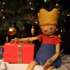 Bild: marotte Figurentheater - Der kleine König feiert Weihnachten