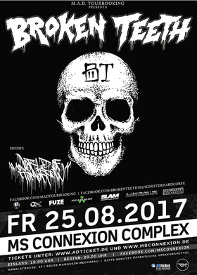 Bild: Broken Teeth + Guest - European Summer Tour 2017