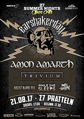 Bild: EARSHAKERDAY with Amon Amarth + many more - Z7 Summer Nights Open Air