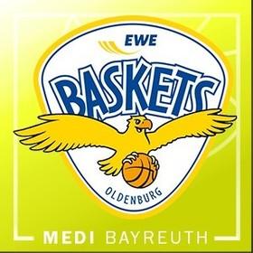 Bild: medi bayreuth vs. EWE Baskets Oldenburg