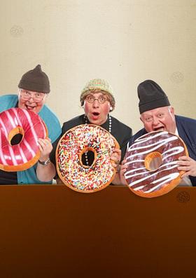 Bild: Die Bierhähne - Die Herren der Ringe!