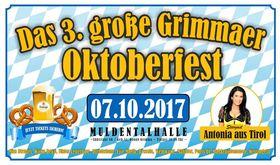 Bild: Das große Grimmaer Oktoberfest 2017 - mit Stargast