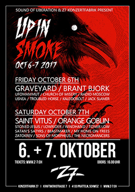 Bild: UP IN SMOKE VOL. 5 | Tagesticket Samstag - Indoor Festival