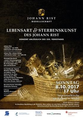 Bild: Lebensart & Sterbenskunst des Johann Rist - Konzert anlässlich des 350. Todestages