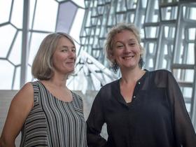 Bild: Sunna Gunnlaugs & Julia Hülsmann