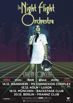 Bild: The Night Flight Orchestra - Live In Concert - Mannheim - - Live In Concert - Mannheim