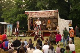 Bild: Klosterfest zu Zeiten Luthers - Klosterfest zu Luthers Zeiten