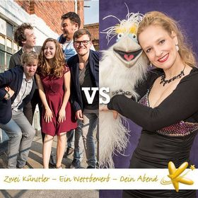 Bild: Kabarett Bundesliga 2017/2018 - 4. Spieltag: HörBand vs. Sabine Murza / Murzarella