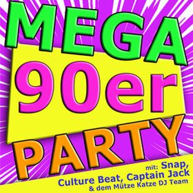 Bild: MEGA 90er Party! - mit Snap, Culture Beat & Captain Jack