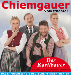Bild: Chiemgauer Volkstheater - Der Kartlbauer - Ländlicher Schwank von Ralph Wallner mit Mona Freiberg, Rupert Pointvogl, Kristina Helfrich, Tom Mandl uvm.