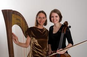Bild: Herbst-Licht - Konzert für Harfe und Violoncello