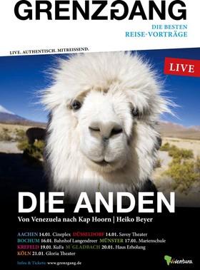 Bild: GRENZGANG - Anden - Von Venezuela nach Kap Hoorn
