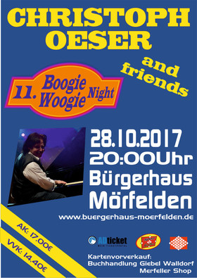 Bild: CHRISTOPH OESER & Friends - 11. Boogie-Woogie-Night