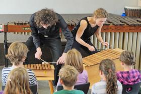 Bild: Binger Meisterkonzerte 2018 - Ensemble farbton - Kinderkonzert