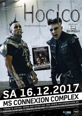 Bild: Hocico - Spell Of The Spider Tour 2017 | Special Guest Chrom + Sounds Of Darkness Aftershow