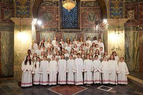 Bild: Mädchenchor des Aachener Doms